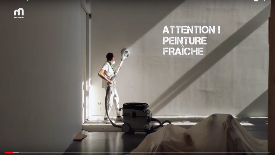 Attention ! Peinture fraiche